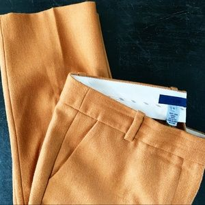J.Crew City Fit 100% Wool Lined Trousers Size 6